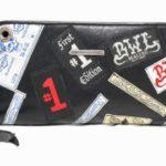 ビルウォールレザー|Bill Wall Leather の Label Whole Wallet Zipper Large を買い取りさせて頂きました♪