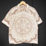 テンダーロイン|TENDERLOIN の ペイズリー 半袖 ワークシャツ を買い取りさせて頂きました♪