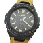 美品 カシオジーショック CASIO G-SHOCK G-STEEL 腕時計 アナデジ アナログ デジタル 電波 タフソーラー GST-W120L-1BJF ¥7,000-で買い取りました。※当社規定Aランク商品