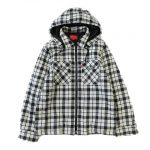 14aw シュプリーム SUPREME 中綿 パーカー  Quilted Zip Flannel Shirt¥5,000~で買い取りました。※当社規定Bランク商品