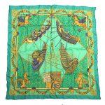 エルメス HERMES LES BISSONE DE VENISE カレ 90 大判 スカーフ を買い取りさせて頂きました♪