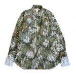 コムデギャルソンシャツ COMME des GARCONS SHIRT ストライプ 迷彩 カモフラ シャツ ¥8,500-で買い取りました。※当社規定ABランク商品