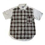 10ss コムデギャルソンオム COMME des GARCONS HOMME チェック 切替 シャツ ¥4,000-で買い取りました。※当社規定ABランク商品