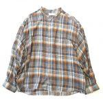 極美品 20AW グラフペーパー Graphpaper Tencel Check Band Collar Big Shirt テンセル チェック バンドカラー ビッグ シャツ ¥12,000-で買い取りました。※当社規定Aランク商品