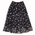 Diagram GRACE CONTINENTAL 20AW 美品 コスメ 刺繍 チュール スカート を買い取りさせて頂きました♪