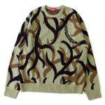 美品 19AW シュプリーム SUPREME Tribal camo sweater トライバル カモ セーター ニット  M ¥12,100-で買い取りました♪ ※当社規定Aランク商品