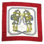 カレ 90 大判 スカーフ シルク ストール BRIDE de GALA を買い取りさせて頂きました♪