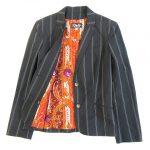ディー&ジー ドルガバ ドルチェ&ガッバーナ D&G ストライプ 裏地総柄 セットアップ スーツ ジャケット パンツ ¥8,000-で買い取りました♪ ※当社規定ABランク商品
