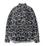 16aw ブラックコムデギャルソン BLACK COMME des GARCONS ランドリー Tシャツ 総柄 シャツ を買い取らせて頂きました♪
