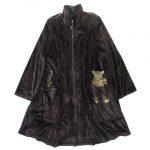 美品 イタリヤ 伊太利屋 ベロア コート ジャケットを買い取りさせて頂きました♪
