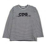 20SS コムデギャルソン CDG COMME des GARCONS フロントロゴ × ボーダー Tシャツ を買い取りさせて頂きました♪
