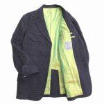 未使用品 ヨウジヤマモトプールオム YOHJI YAMAMOTO POUR HOMME チェック フランネルウール テーラード ジャケット ¥22,000-で買い取りました♪ ※当社規定Sランク商品