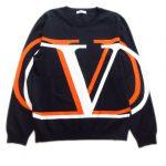 極美品 20AW ヴァレンティノ ヴァレンチノ  VALENTINO VロゴOMBRAプリント ニットを買取させて頂きました♪