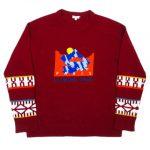 ケンゾー KENZO ニット セーター 長袖 ラウンドネック 刺繡 F965PU2193CB を買い取りさせて頂きました♪