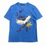 16ss ルイヴィトン LOUIS VUITTON ベルベット プリント ロゴ Tシャツ¥22,000- 買い取りました♪ ※当社規定Aランク商品