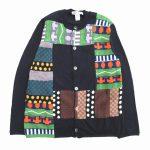 美品 コムデギャルソンシャツ COMME des GARCONS SHIRT 総柄 パッチワーク カーディガン を買い取りさせて頂きました♪