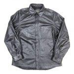 カズタカ カトウ kaka kazutaka kato レザー シャツ ジャケット ブルゾン 牛革 を買い取りさせて頂きました♪