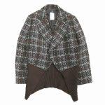 美品 ワイズ Y's ヨウジヤマモト Yohji Yamamoto チェック ツイード ニット ジャケット を買い取りさせて頂きました♪