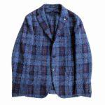 未使用品 タリアトーレ TAGLIATORE チェック モヘヤ アルパカ ウール テーラード ジャケットを買い取りさせて頂きました♪