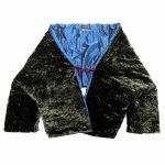 美品 エトロ vintage ETRO 中綿 ベロア シルク 変形 ショート丈 ジャケット を買い取りさせて頂きました♪